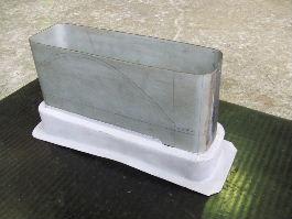 反射板1形態の為に曲げた平板と第4形態