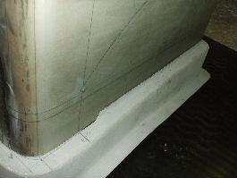 反射板1形態の為に曲げた平板と第4形態のアップ