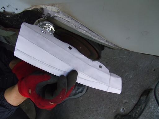 カレンダー用紙で折り紙